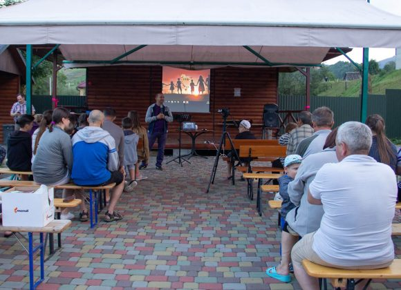 Як Бережанці побували в сімейному таборі в Закарпатті